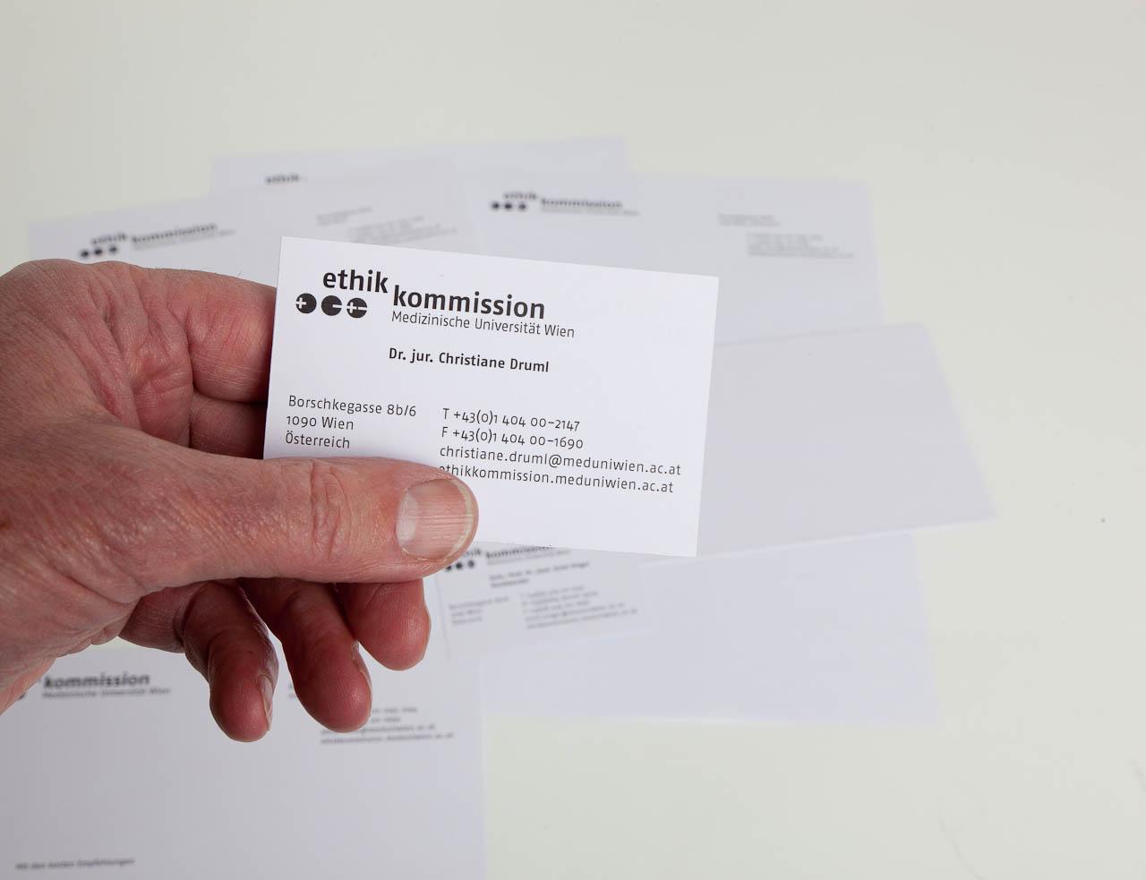 ethik kommission (Geschaeftsdrucksorten)