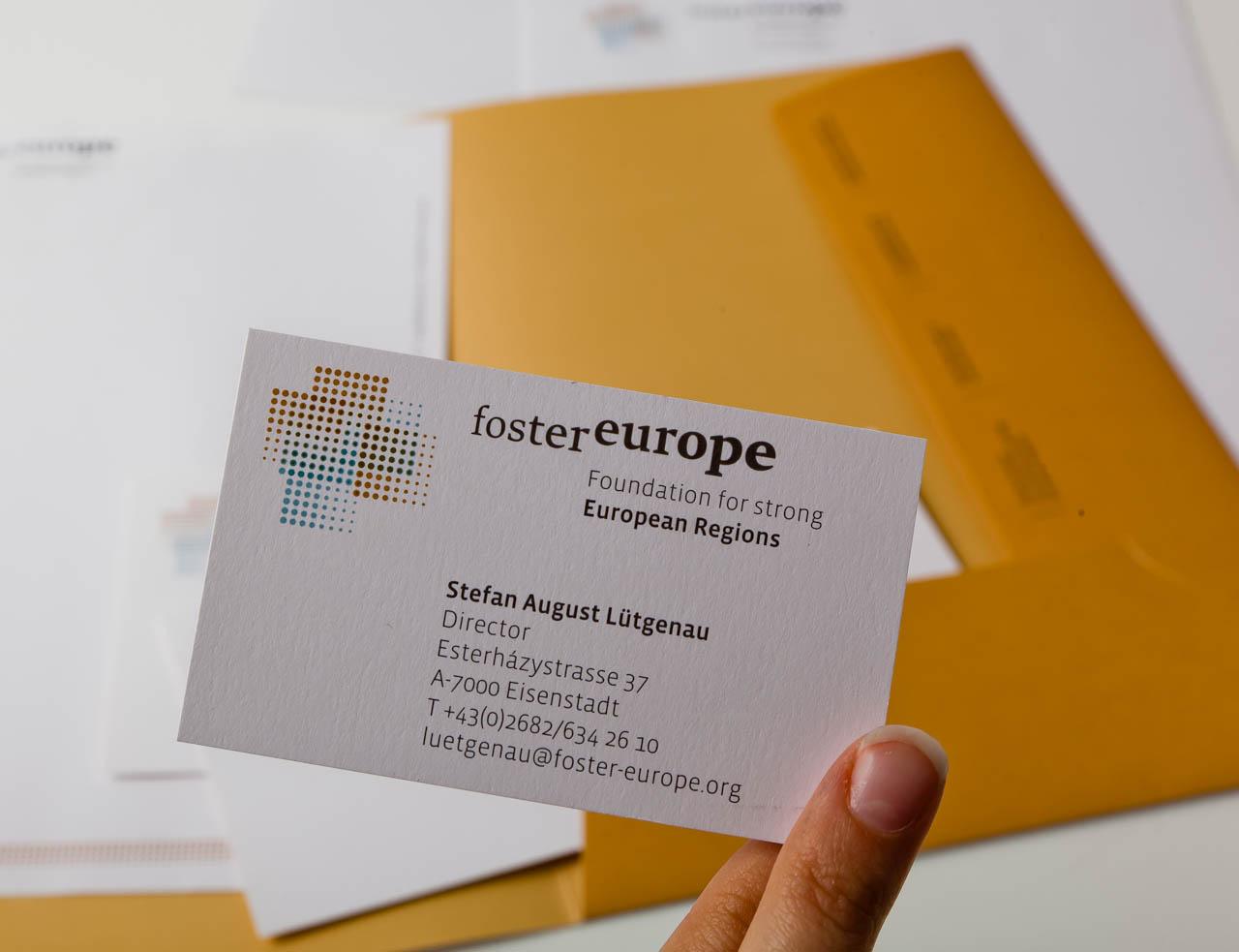 Foster Europe (Geschaeftsdrucksorten)