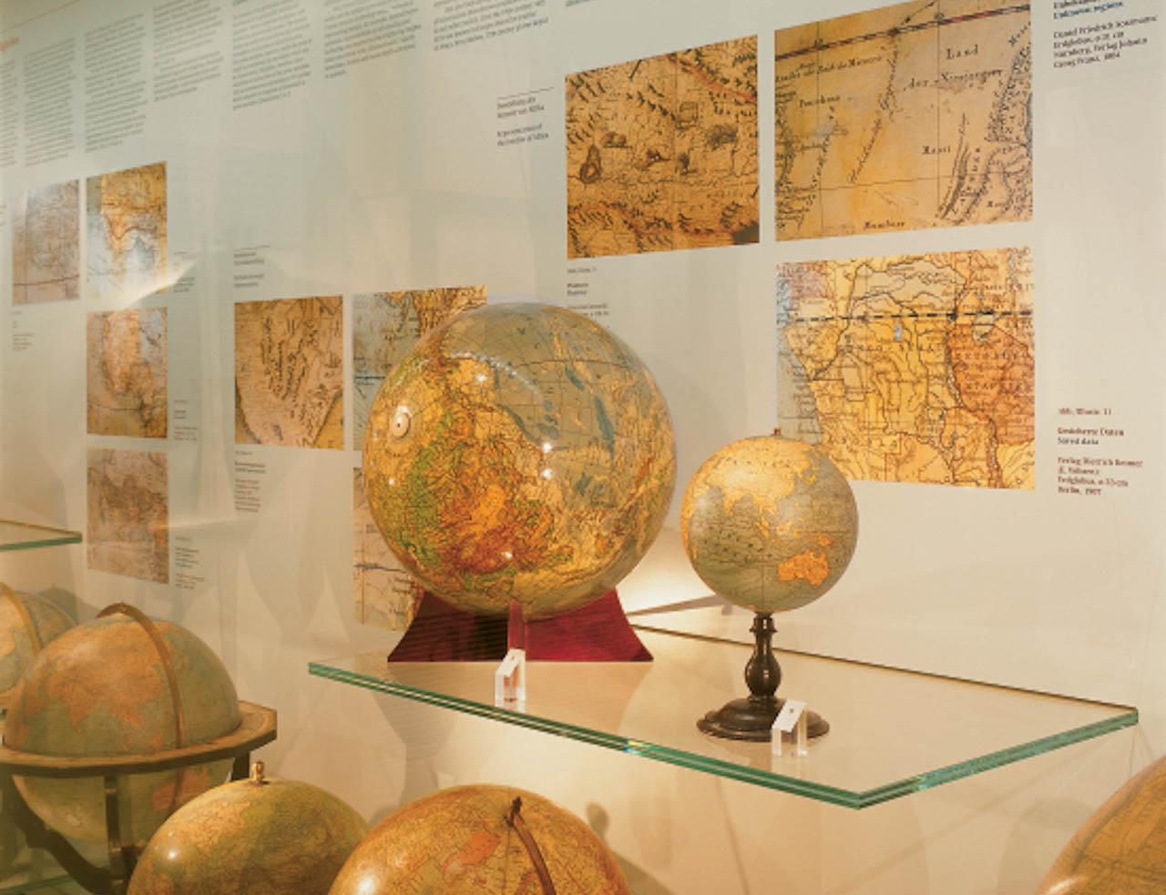 Oesterreichische Nationalbibliothek - Pallais Mollard, Globenmuseum