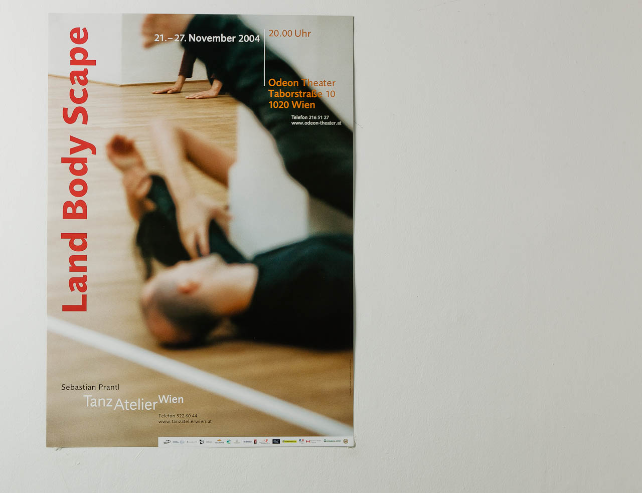 TanzAtelier - Land Body Scape (Plakat)
