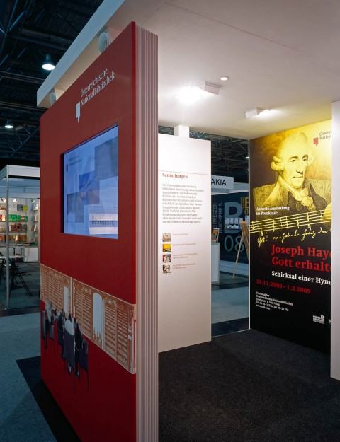 Oesterreichische Nationalbibliothek (Messestand)