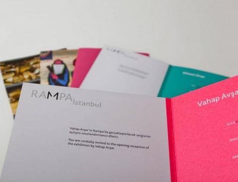 Rampa Istanbul (Geschaeftsdrucksorten, Kommunikationsmedien)